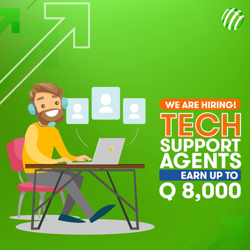 Work With Us! Tech Support