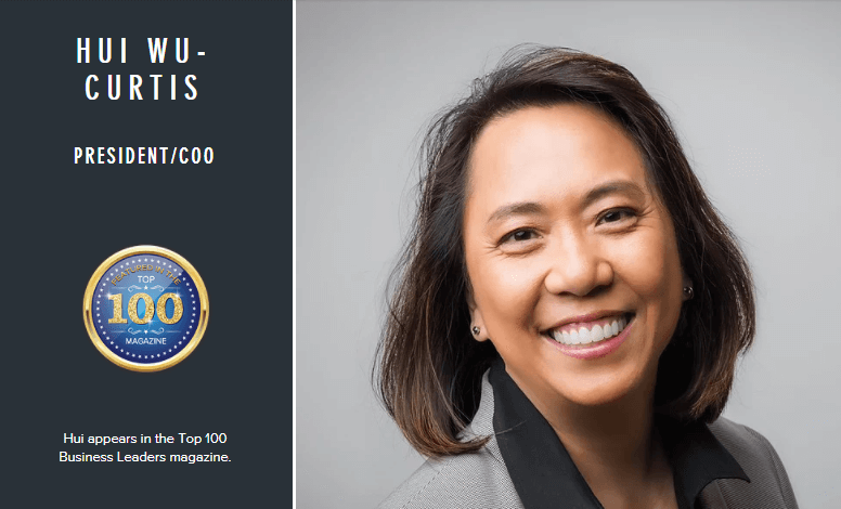 Hui-Wu Curtis, Top 100 Business Leaders