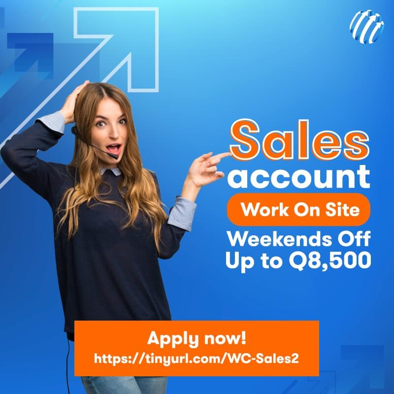 Work With Us - Sales