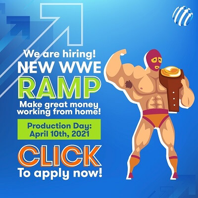 Join our WWE Ramp!